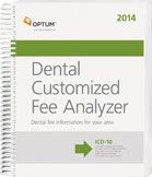 Dental Customized Fee Analyzer 2014