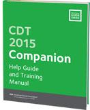 CDT 2015 Companion Dental Coding Guide