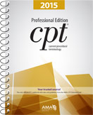 AMA CPT 2015 Professional Spiral Code Book