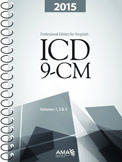AMA Hospital ICD-9-CM 2015 Volumes 1, 2, 3 Full-Size