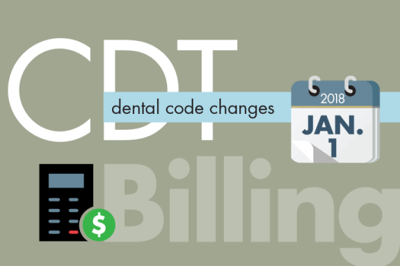 Prepare For Cdt 2018 Dental Code Additions Revisions And Deletions