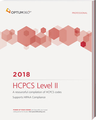 HCPCS Level II Professional 2018