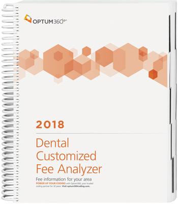 Dental Customized Fee Analyzer 2018