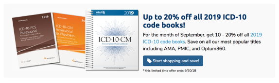 Up to 20% off 2019 ICD-10-CM