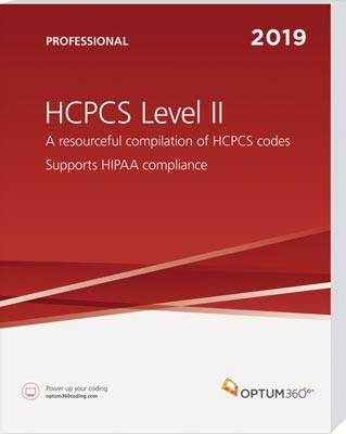 Optum360 HCPCS Level II Professional 2019