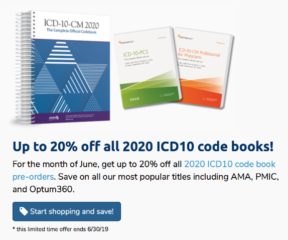 2020 coding books are available for pre-order!