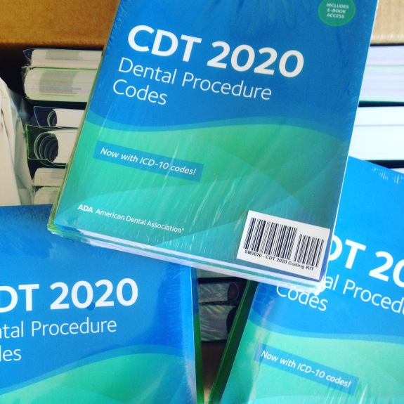 CDT 2020: Dental Procedure Codes