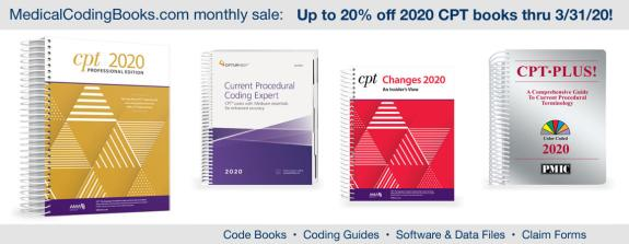 Limited time offer – CPT books!