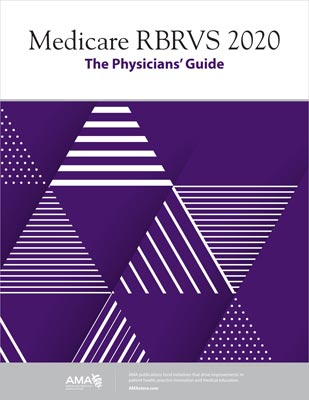 AMA Medicare RBRVS 2020: The Physicians' Guide