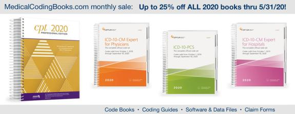 Limited time offer – 25% off ALL 2020 coding books!