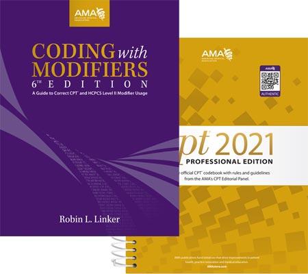 AMA 2021 CPT Modifiers Bundle