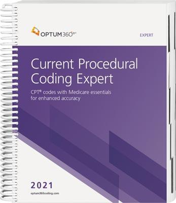 Optum360 Current Procedural Coding Expert Spiral 2021